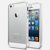 Чехол для iPhone 5 SGP Neo Hybrid EX Snow White (SGP09517)
