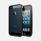 Чехол для iPhone 5 SGP Neo Hybrid EX Vivid Black (SGP09520)