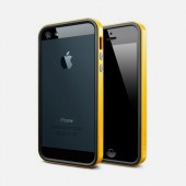 Чехол для iPhone 5 SGP Neo Hybrid EX Vivid Yellow (SGP09518)