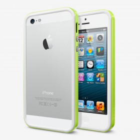 Чехол для iPhone 5 SGP Neo Hybrid EX Snow Lime (SGP10029)