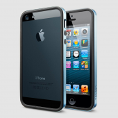 Чехол для iPhone 5 SGP Neo Hybrid EX Metal Blue (SGP09656)