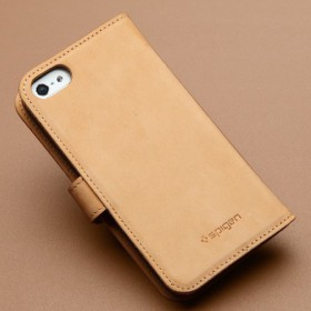 Чехол для iPhone 5 SGP Valentinus Vintage Brown (SGP09526)