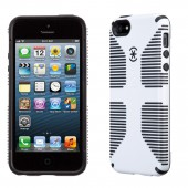Чехол для iPhone 5 Speck CandyShell Grip White/Black