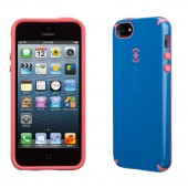 Чехол для iPhone 5 Speck CandyShell Harbor/Coral