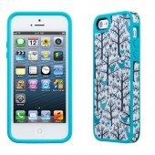 Чехол для iPhone 5 Speck Fabshell LoveBirds Peacock