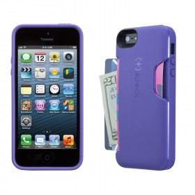 Чехол для iPhone 5 Speck SmartFlex Card Grape