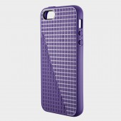 Чехол для iPhone 5 Speck PixelSkin HD Grape