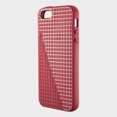 Чехол для iPhone 5 Speck PixelSkin HD Red